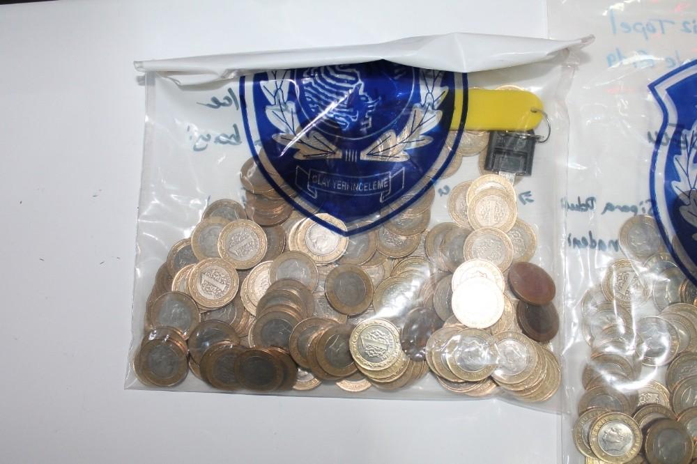 Kızılcahamam polisinden kumarhane baskını