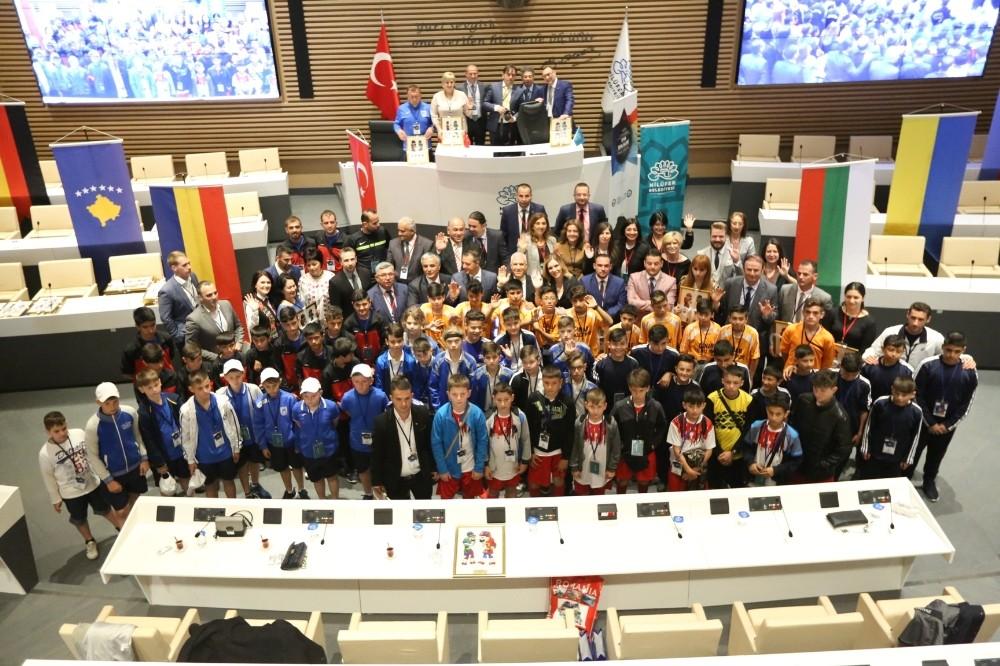 Nilüfer Spor Şenlikleri kardeş şehirlerle renkleniyor
