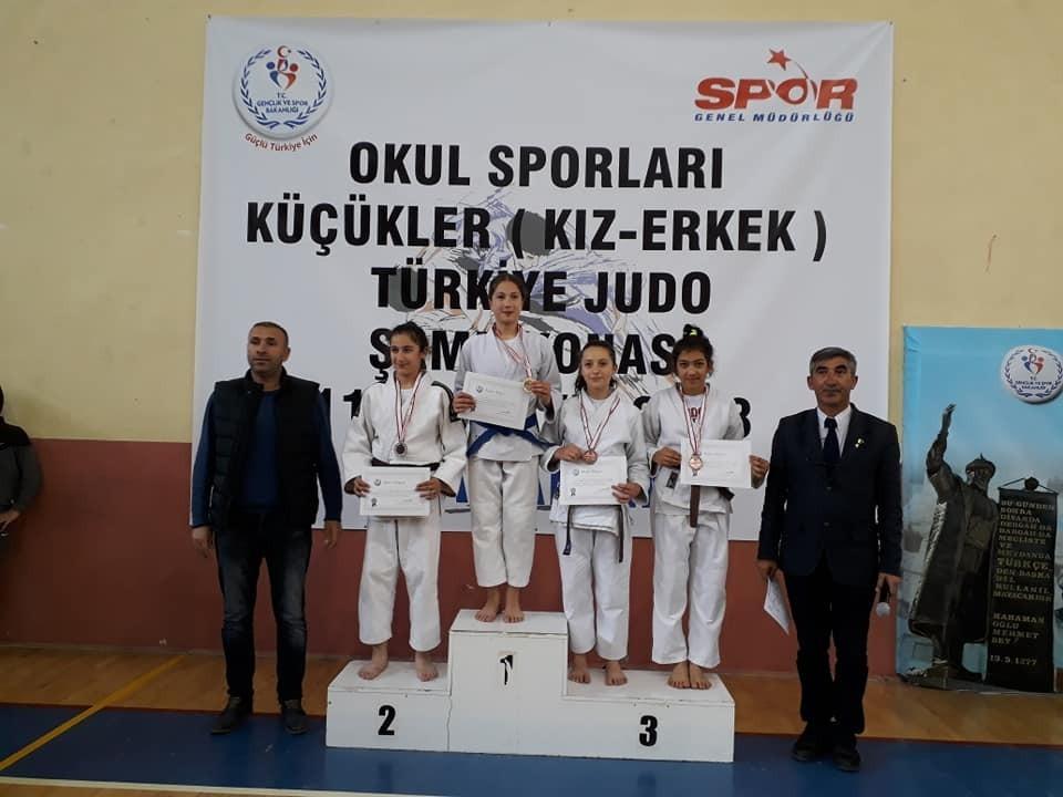 Osmaniyeli judocular şampiyonadan dereceyle döndü