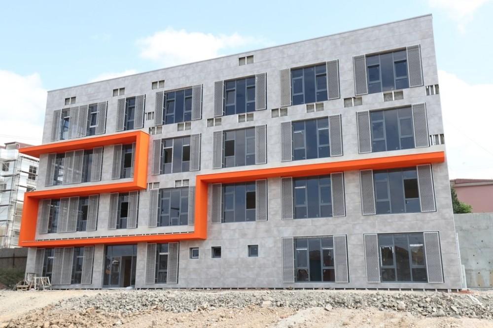 Ulus Semt Polikliniği inşaatında son aşamaya gelindi