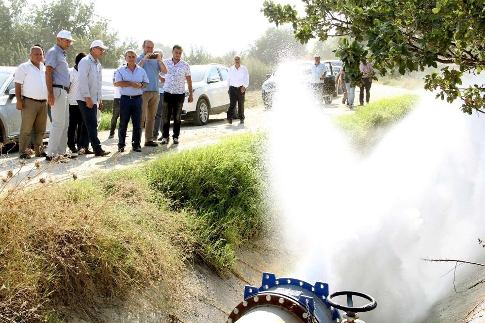 Sarıgöl Sulaması'nın yüzde 80'i tamamlandı