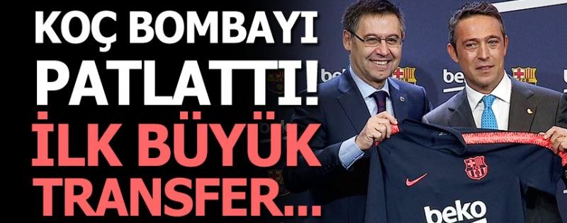 Ali Koç devrede, ilk bomba Barcelona'dan!
