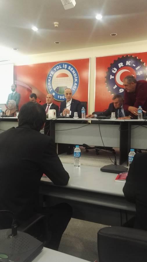 Ankara Turk-iş de taseron toplantisi