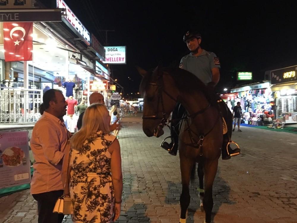 Ortaca'da atlı jandarma dönemi
