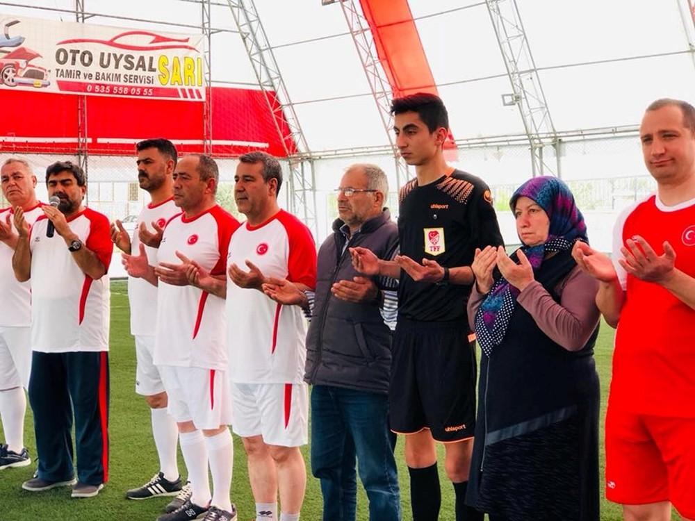Mut'ta ″Şehit Ali Gümüş Halı Saha Turnuvası″ başladı