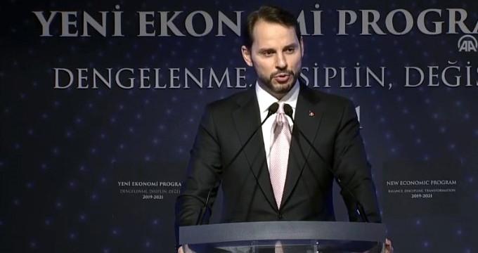 Bakan Albayrak Yeni Ekonomi Programını Açıklıyor