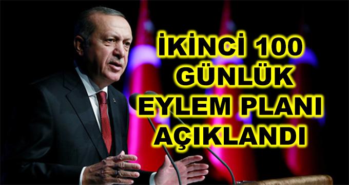 Başkan Erdoğan, İkinci 100 Günlük Eylem Planı'nı Açıkladı