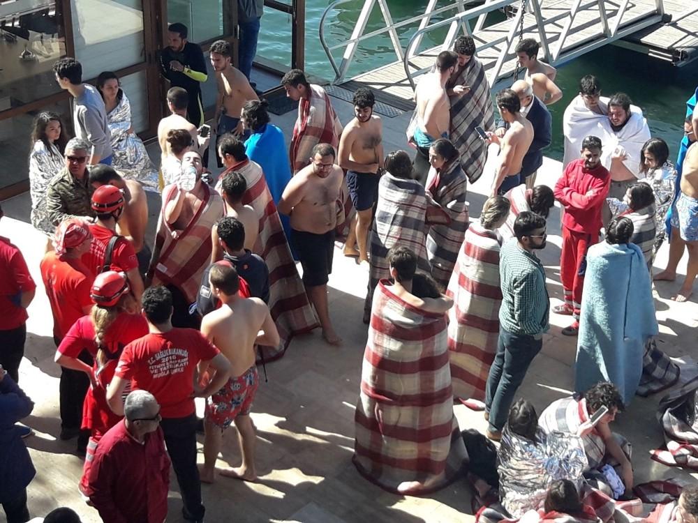 Ölümden dönen dalış öğrencileri dehşet dakikalarını anlattı