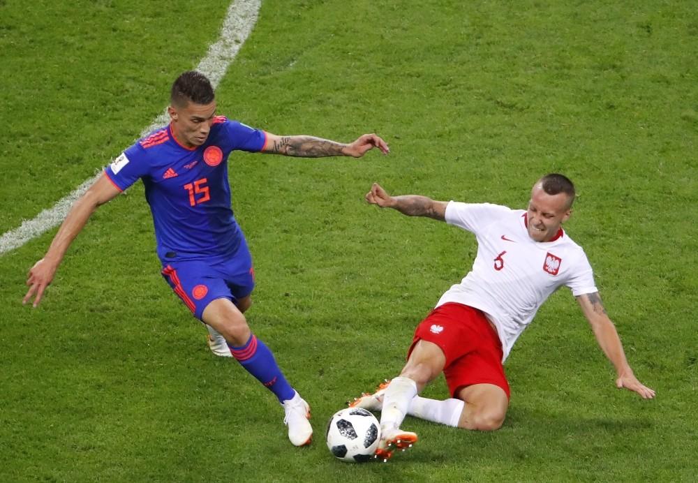 FIFA Dünya Kupası: Polonya: 0 - Kolombiya: 3
