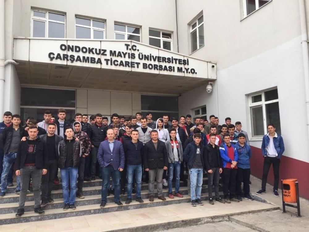 Çarşamba MYO kapısını üniversite adaylarına açtı