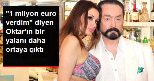 Bir Yalanı Daha Ortaya Çıktı!! 1 Milyon Euro Verdim....
