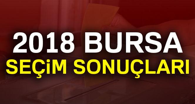 Bursa Seçim Sonuçları 2018: Cumhurbaşkanlığı ve Milletvekili Genel Seçim Sonuçları