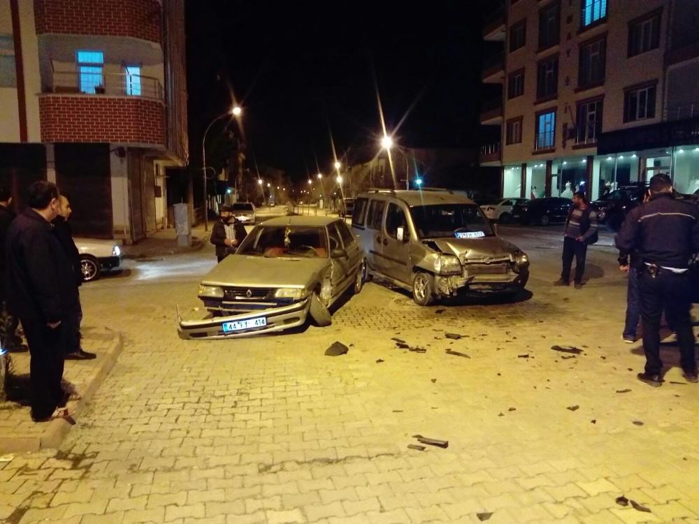 Gölbaşı'nda trafik kazası