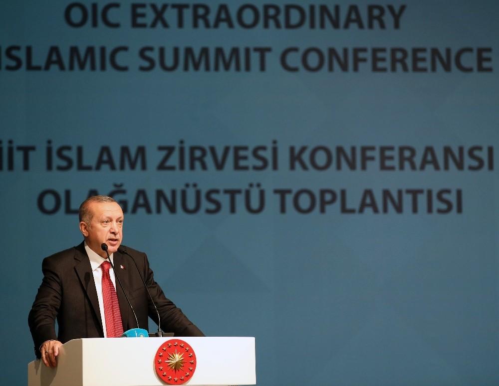 """Cumhurbaşkanı Erdoğan: ″14 Mayıs yeni bir Nakba günü olarak kaydolmuştur"""""""