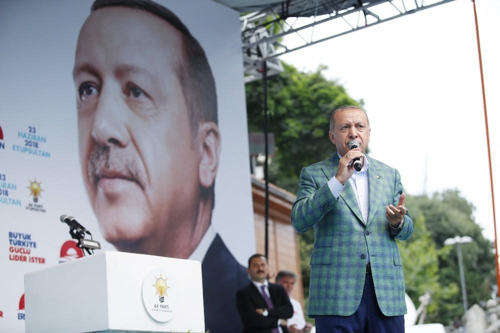 Cumhurbaşkanı Erdoğan: ″İstanbul'da 5 milyon, dedi, emniyetten rakam aldım 280 bin″
