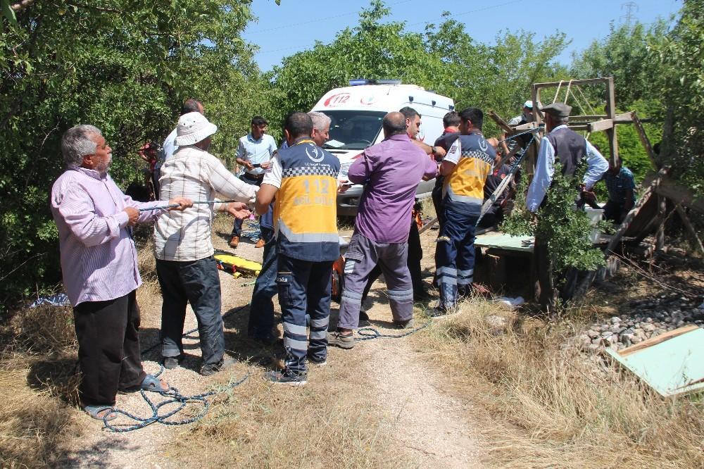16 metrelik kuyuda elektrik akımına kapılan işçi öldü