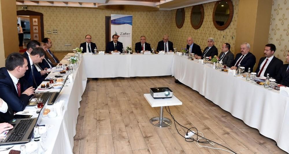 Zafer Kalkınma Ajansı Yönetim Kurulu Uşak'ta toplandı