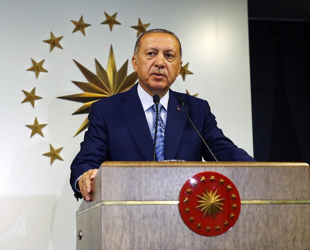 Cumhurbaşkanı Erdoğan: ″Gerginlikleri geride bırakıp, geleceğe yoğunlaşma zamanı″