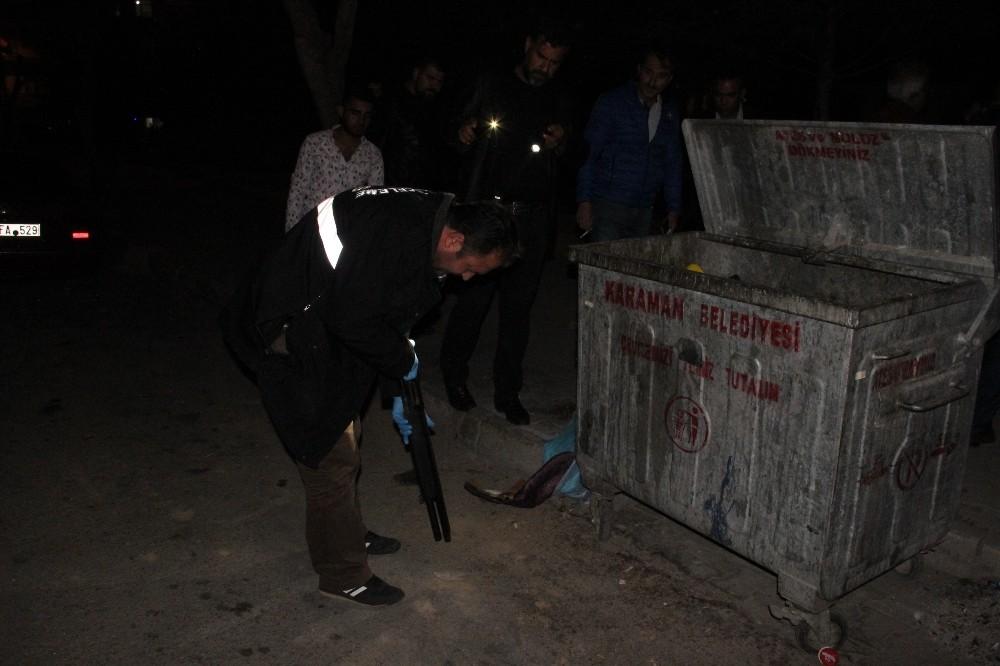 Karaman'da iki gurup arasında çıkan silahlı kavgada: 3 kişi yaralandı