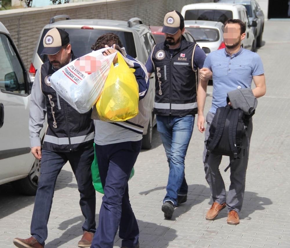Samsun'da 'ByLock'tan 3 kişi adliyeye sevk edildi