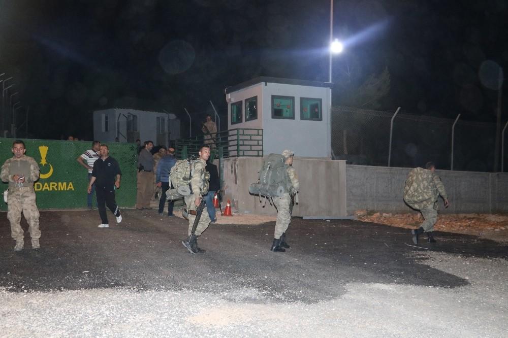 Jandarma karakoluna roketatarlı saldırı