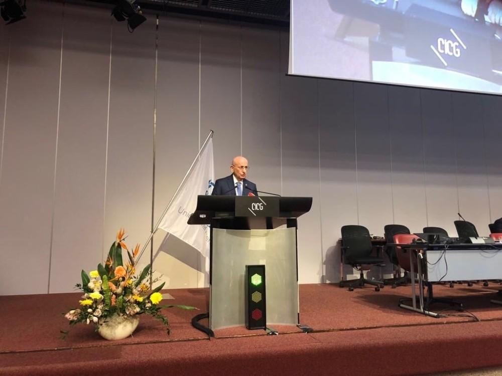 TBMM Başkanı Kahraman Cenevre'de temaslarına devam ediyor