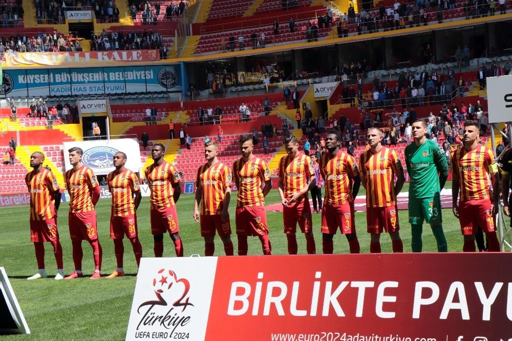 Spor Toto Süper Lig: Kayserispor: 2 - Gençlerbirliği: 0 (İlk yarı)
