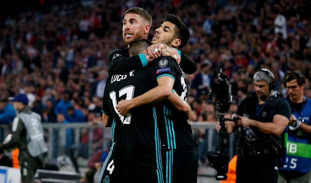 Real Madrid, Almanya'da avantajı kaptı