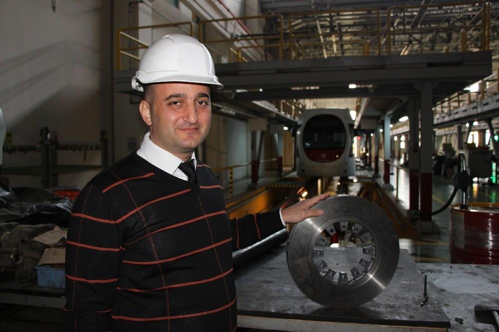 Türk mühendisleri 1320 euroluk fren diskini 880 liraya üretti