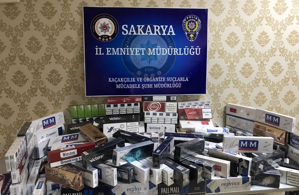 2 bin 303 paket kaçak sigara ele geçirildi