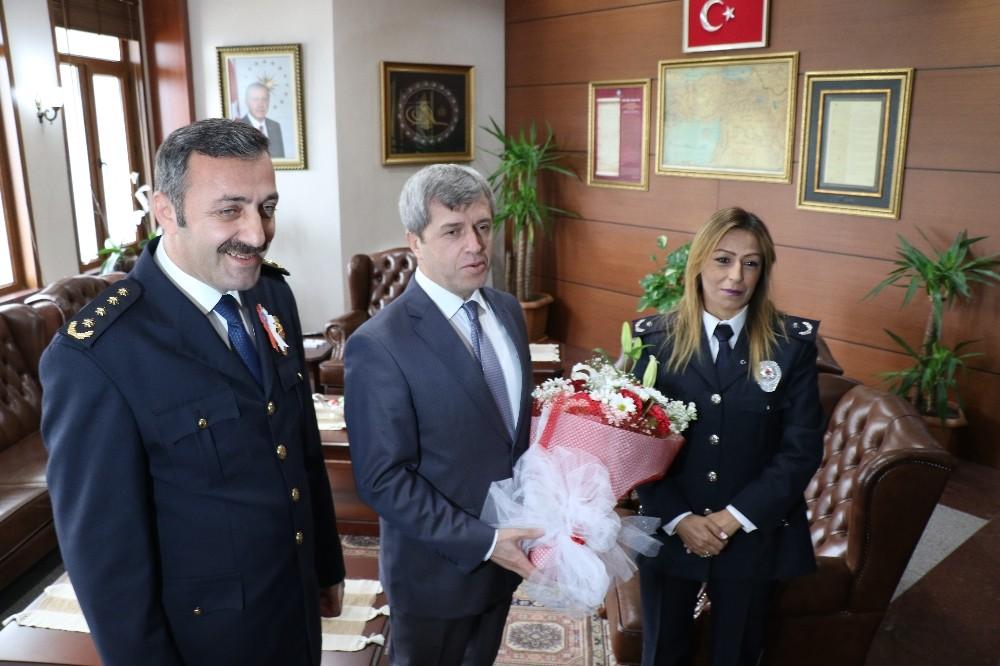 Emniyet teşkilatından Vali Çınar'a ziyaret