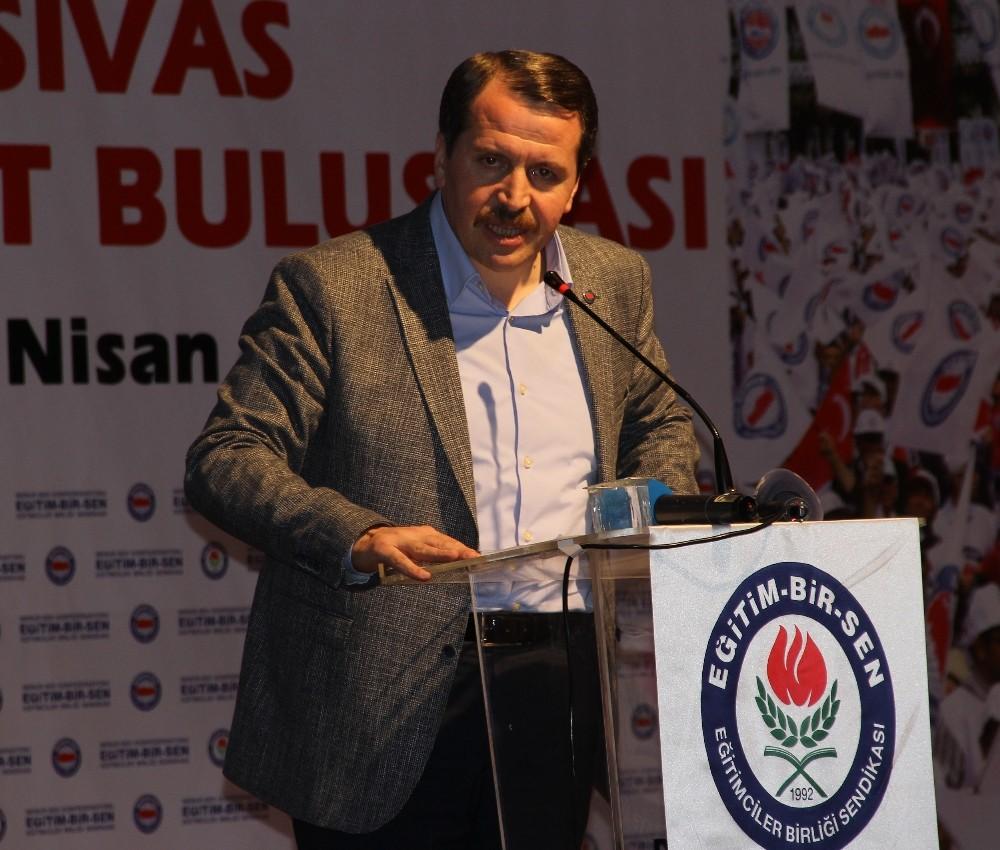 Memur-Sen Genel Başkanı Yalçın: ″Öğretmen performans taslağı geri çekilmeli″