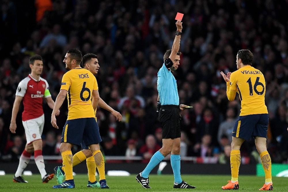 Arsenal, 10 kişi kalan Atletico Madrid'e diş geçiremedi