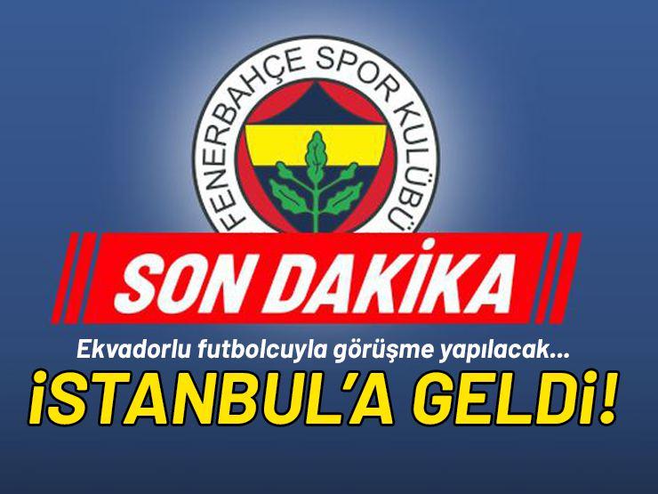 Ekvator'lu Futbolcu İstanbul'a Geldi!
