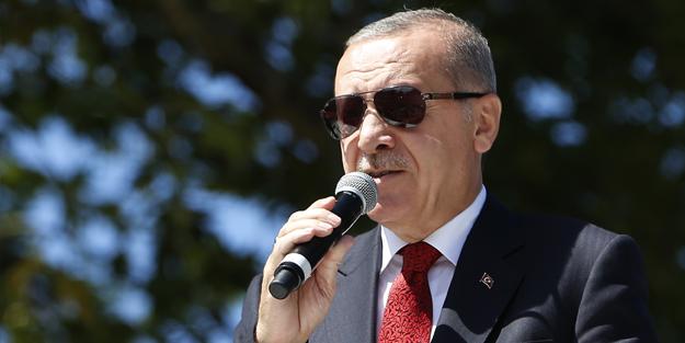 Erdoğan; ''Bu Bölgenin Kaderinde Bu Var''