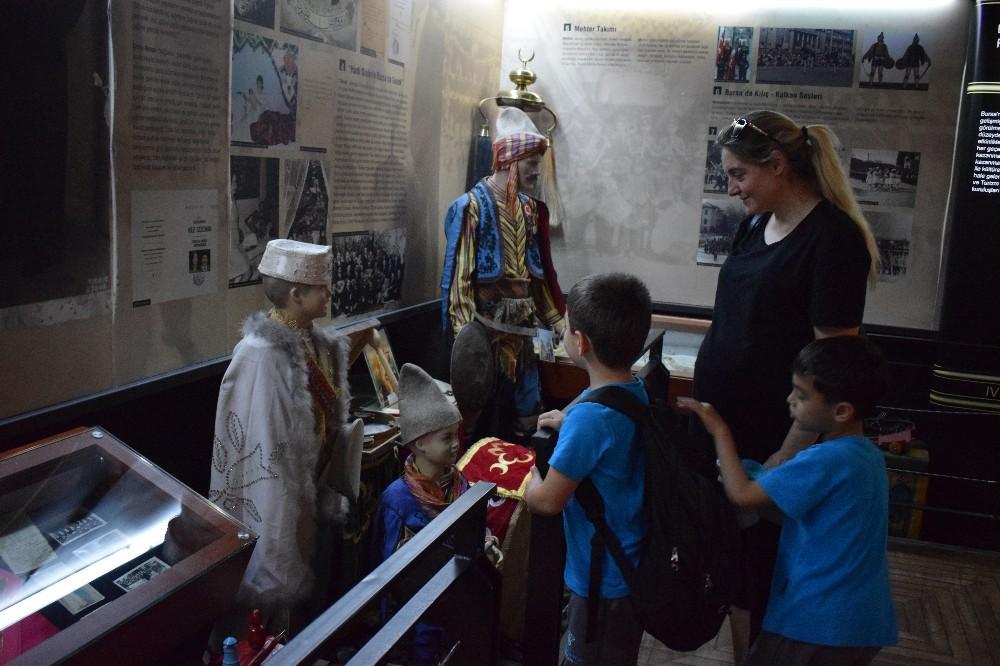 Öğrenciler Bursa'nın geçmişini yakından inceledi