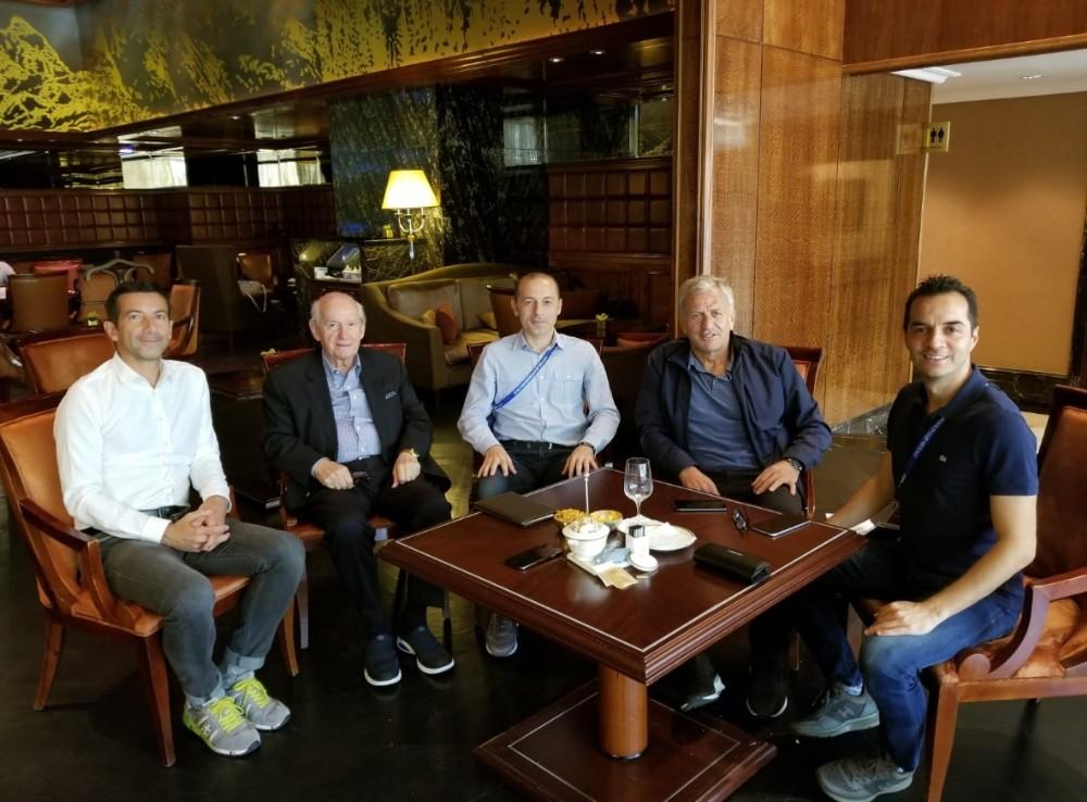 TFF yetkililerinden Cüneyt Çakır ve ekibine tebrik