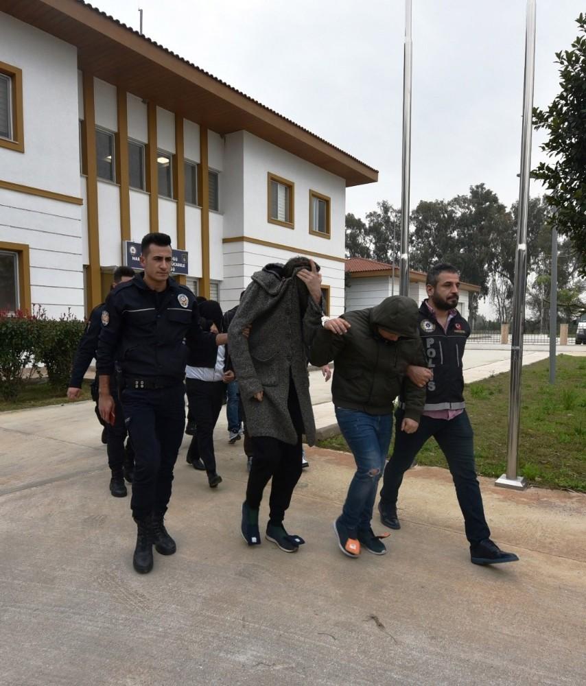 Antalya'daki uyuşturucu operasyonunda 12 tutuklama
