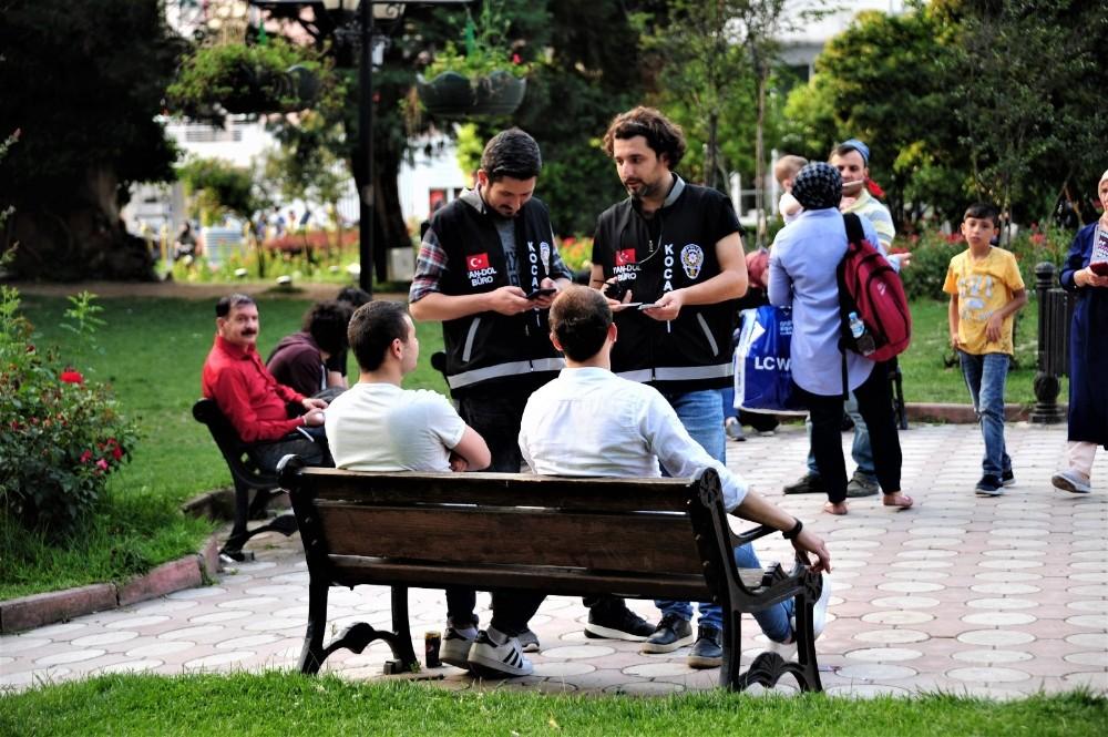 """Ülke genelinde """" Türkiye huzurlu parklar"""" uygulaması yapıldı"""
