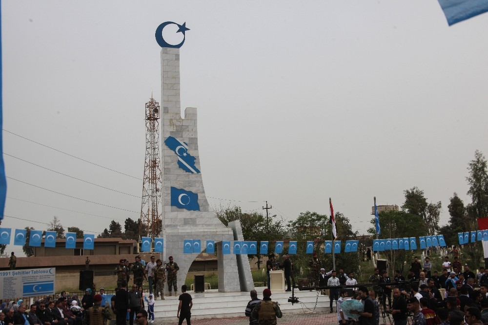 Kerkük'te 27 yıl önce katledilen Türkmenler anıldı