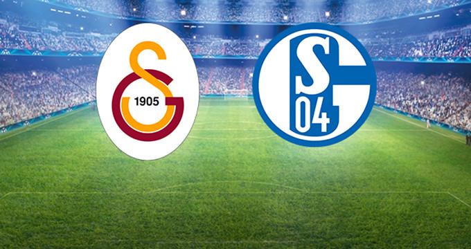 Galatasaray - Schalke İlk 11'ler Belli Oldu