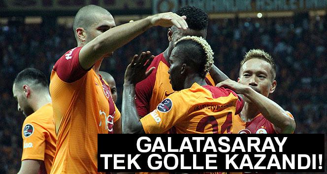 Galatasaray Tek Golle Geçti