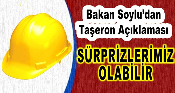 İçişleri Bakanı Süleyman Soylu'dan Taşeron Açıklaması! Sürprizlerimiz Olabilir