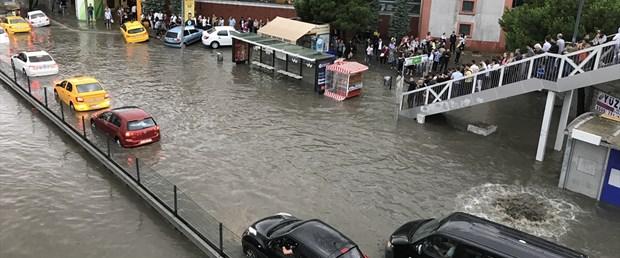 İstanbul Büyükşehir Belediyesi Akom'dan son dakika yağış uyarısı! İstanbul Hava Durumu.!