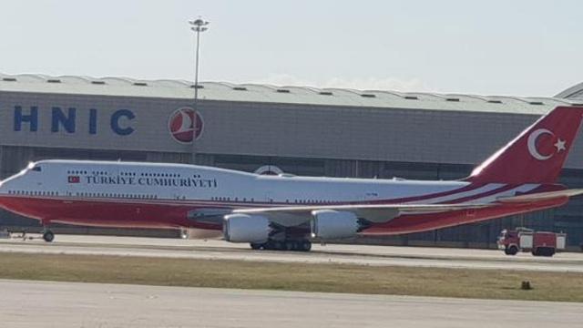 Katar'dan Hediye Edilen Uçan Saray Artık Hazır!