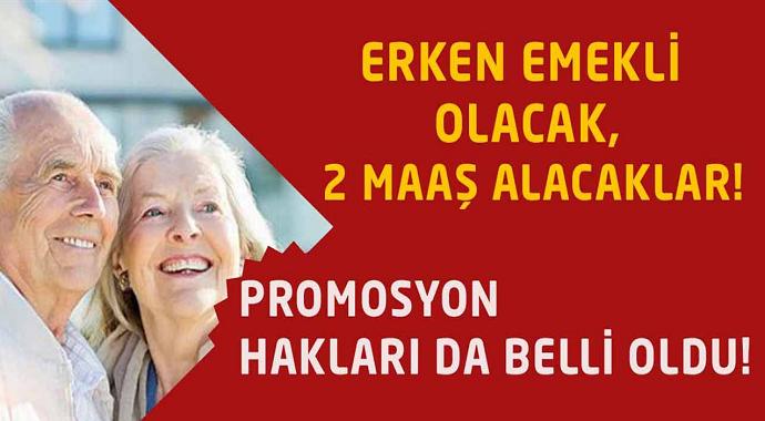 Meclisten Geçti! O Vatandaşlar Erken Emekli Olup 2 Maaş Alacaklar!