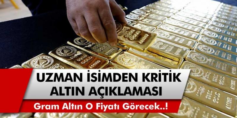 Murat Özsoy'dan Kritik Açıklama! Gram Altın Fiyatları 485 TL Rakamını Görecek... İşte O Tarih