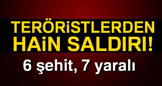 Siirt'te teröristlerden hain saldırı; Şehit ve yaralılar var