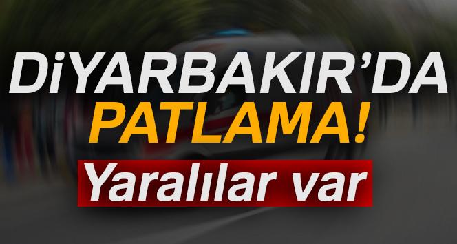 Son dakika: Diyarbakır'da patlama! Olay yerine ambulanslar sevk edildi, Diyarbakır patlama