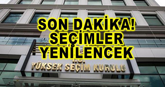Son Dakika! YSK, AK Parti'nin İtirazını Kabul Etti, İstanbul'da Seçimler Yenilenecek